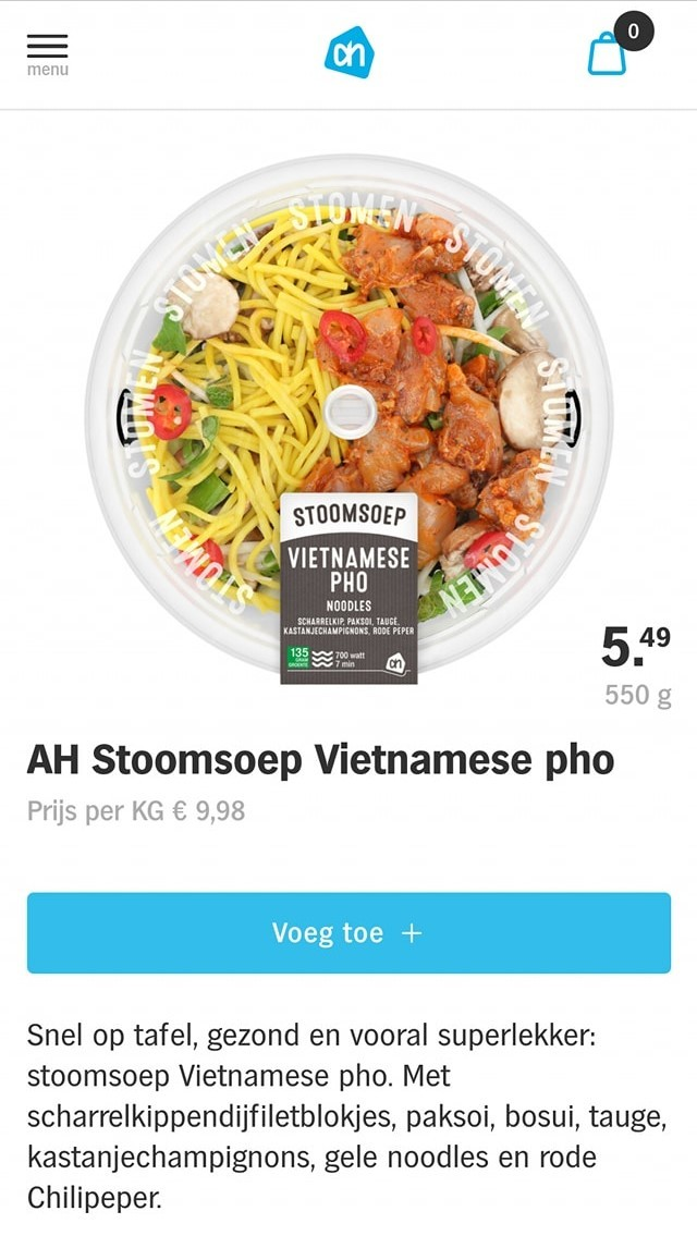supermarket in the netherlands threatened to boycott for selling fake vietnamese pho