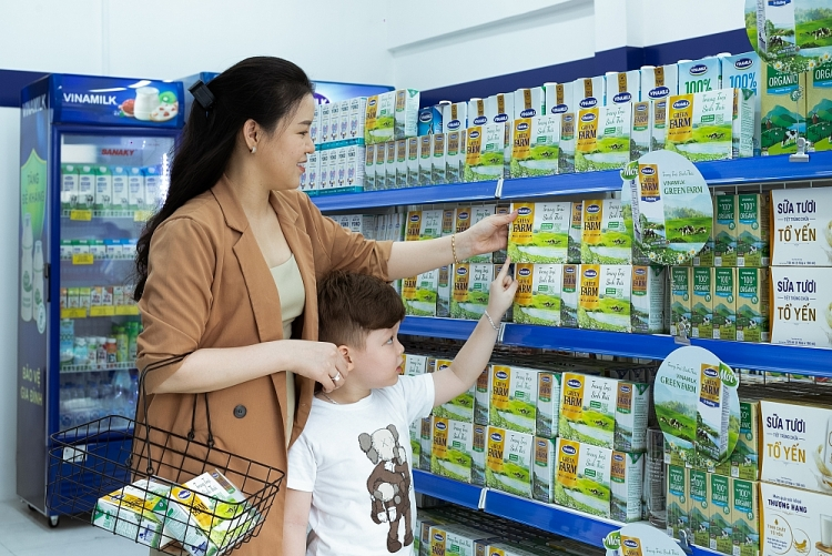 Vinamilk, a Vietnamese top brand in liquid milk for many consecutive years