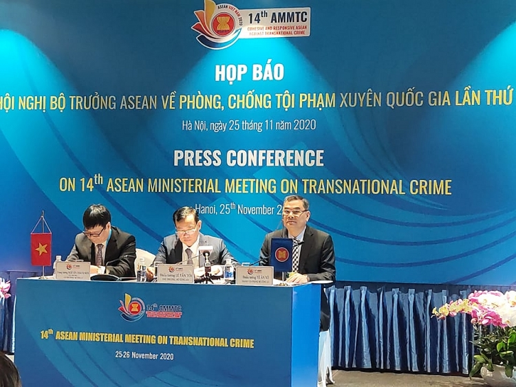 the 14th asean ministerial meeting on transnational crime ammtc held virtually for the first time due to covid 19