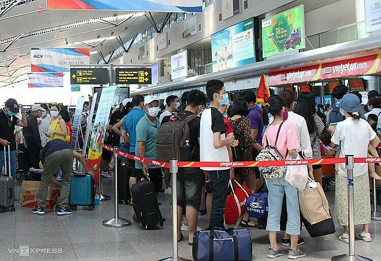 tourists to be evacuated from da nang due to covid 19 outbreak