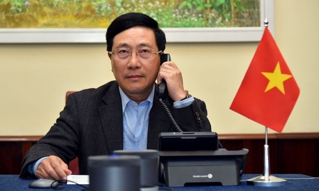 Vietnam Deputy PM holds phone talks with US Secretary of State on monetary policy