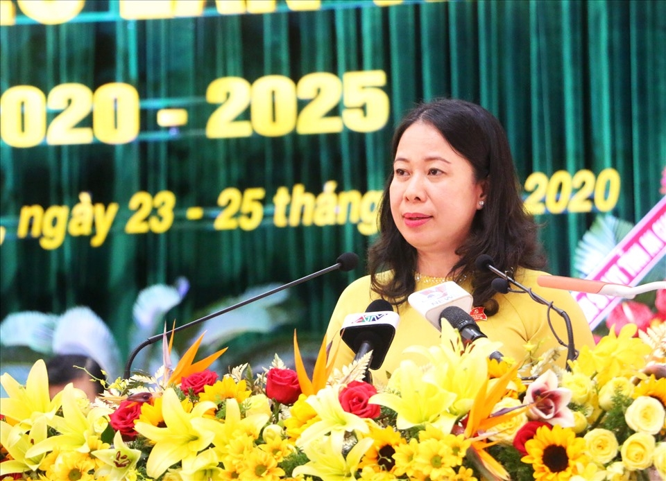 Vietnam's new Vice State President, a loving and caring female leader