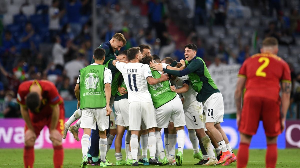 EURO 2020 TODAY (July 3): Italy 2-1 Belgium, book semifinal spot against Spain