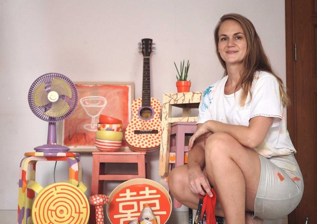Swedish Artist Auctions Re-designed Items for Covid Fundraising