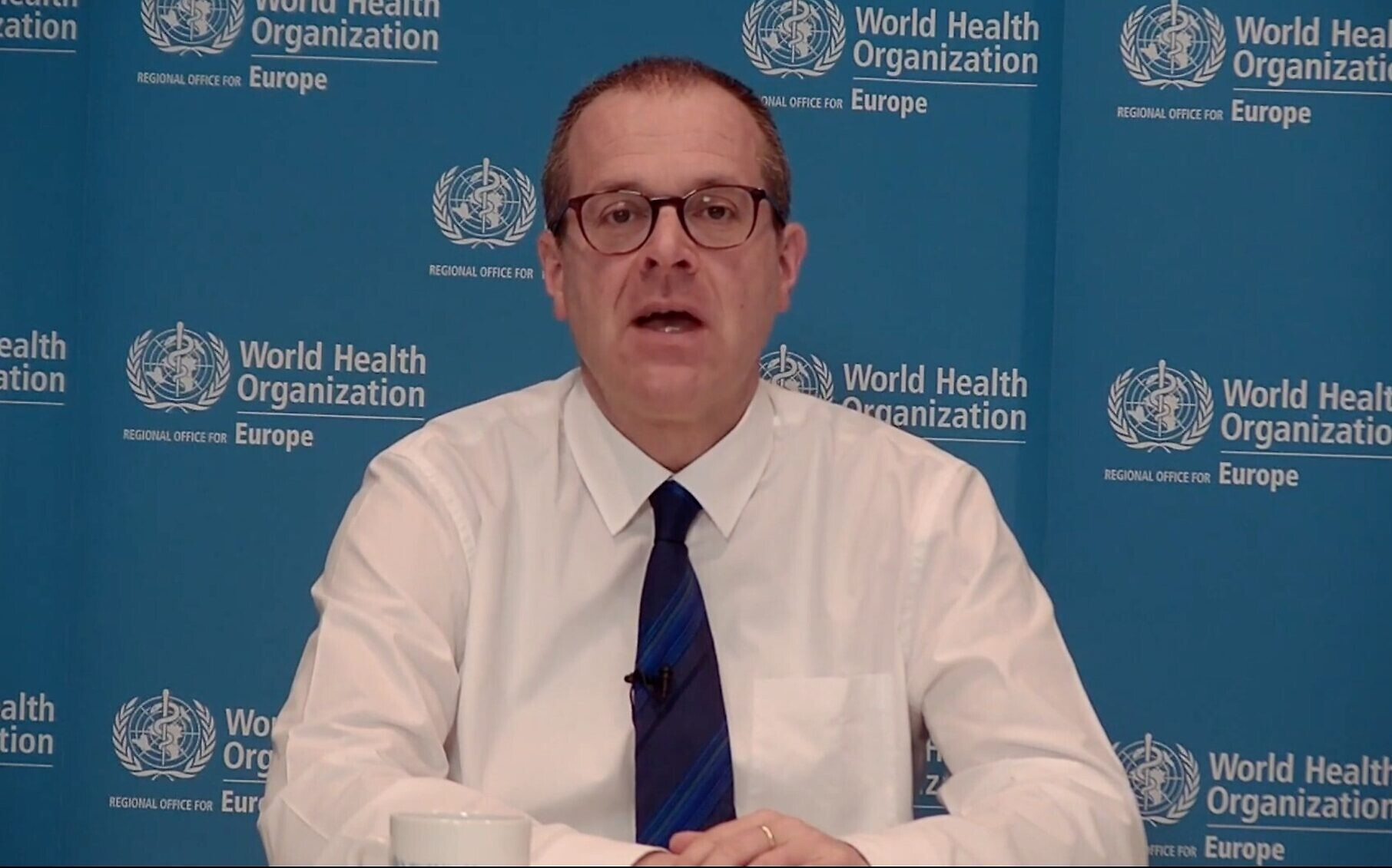 WHO Europe's Regional Director Hans Kluge (Photo: Times of Isareal)
