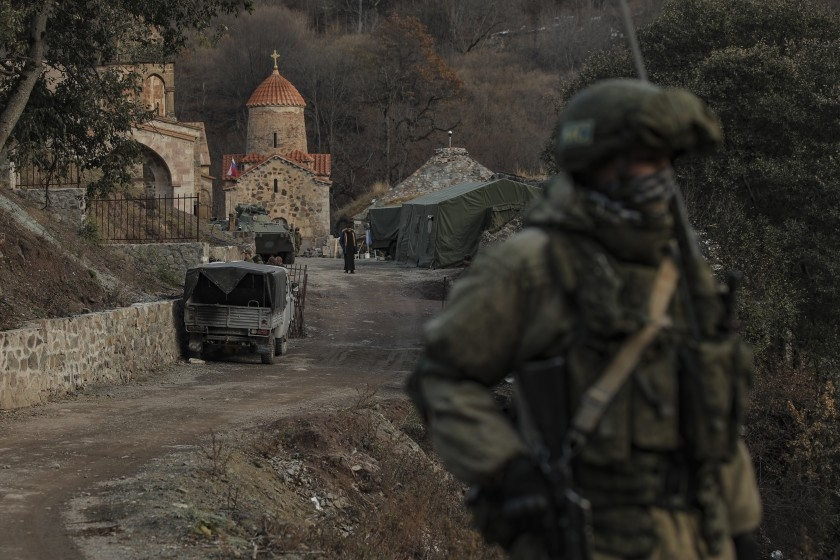 Azerbaijan has said nearly 2,800 of its soldiers were killed during its conflict with Armenian forces (Photo: LA Times)