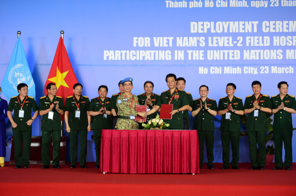 63 Vietnamese peacekeeping officials heading to South Sudan