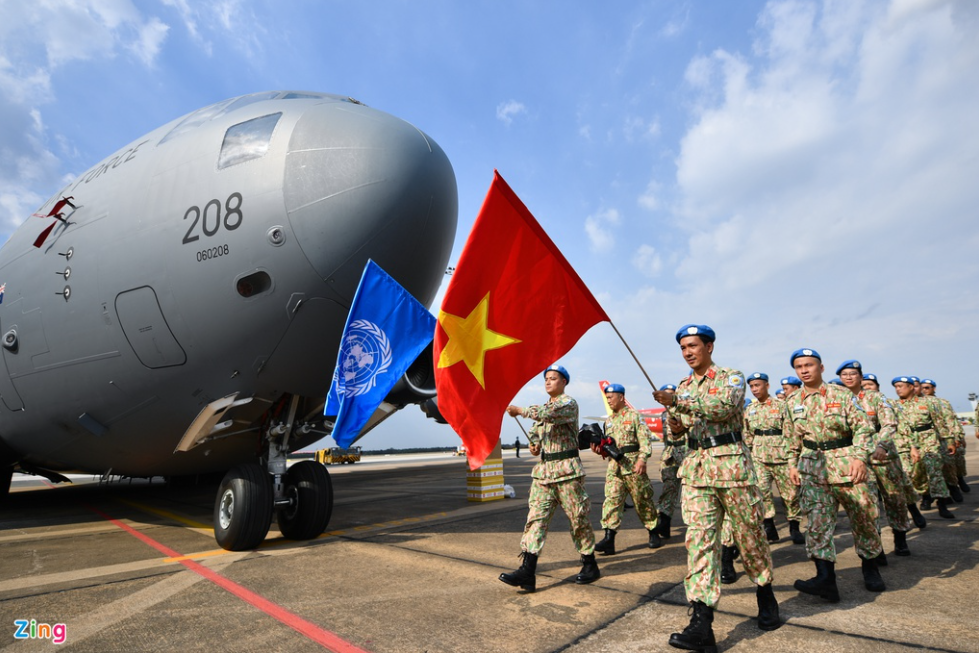 Photo: Farewell held for level-2 field hospital No. 3 staff as heading to South Sudan