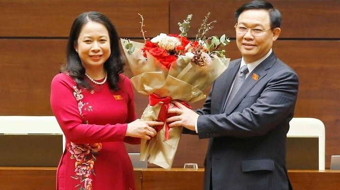Party chief of Mekong Delta province elected as Vietnam's vice-state president
