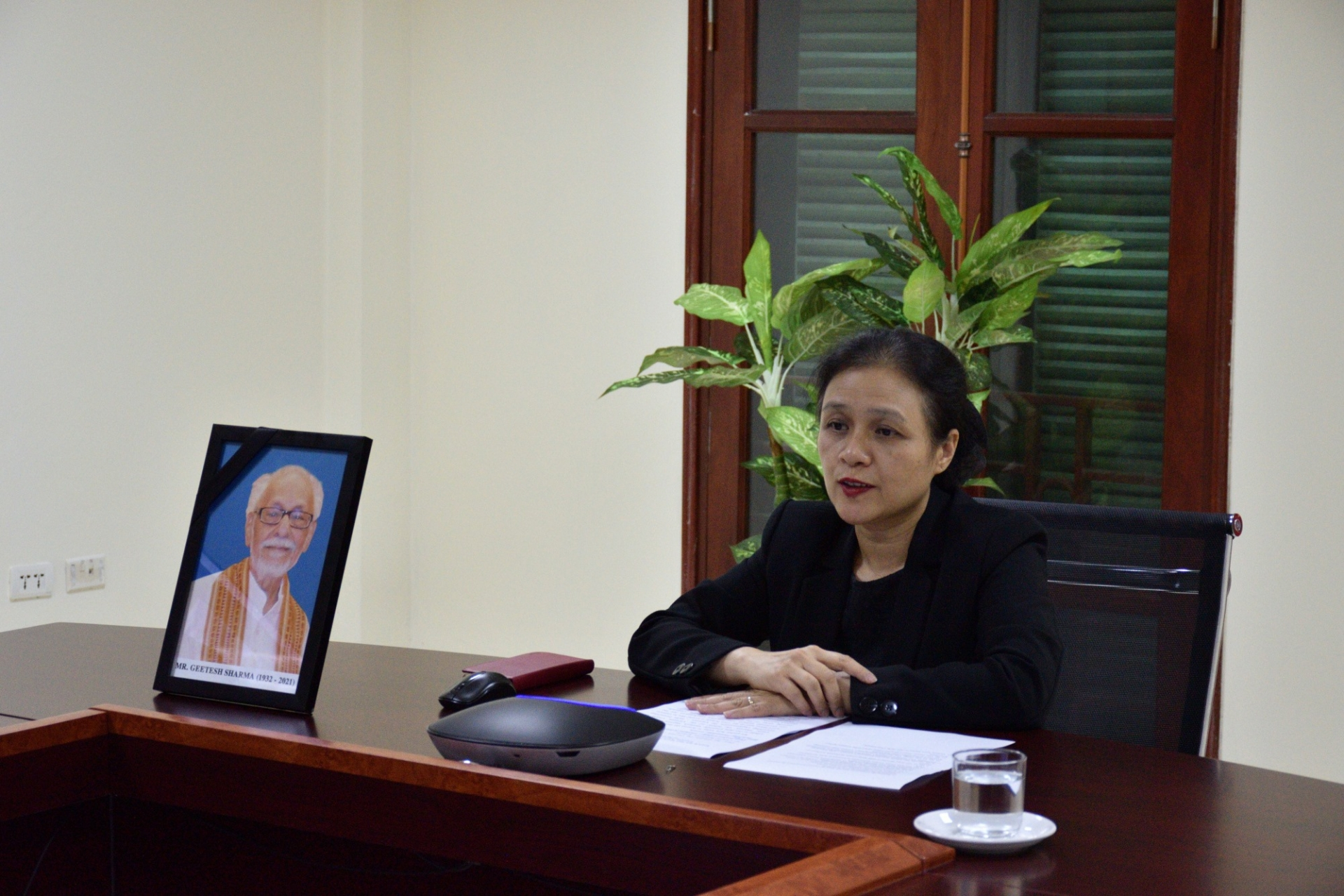 """VUFO president joins condolence meeting for Indian journalist, a """"great friend of Vietnam"""""""