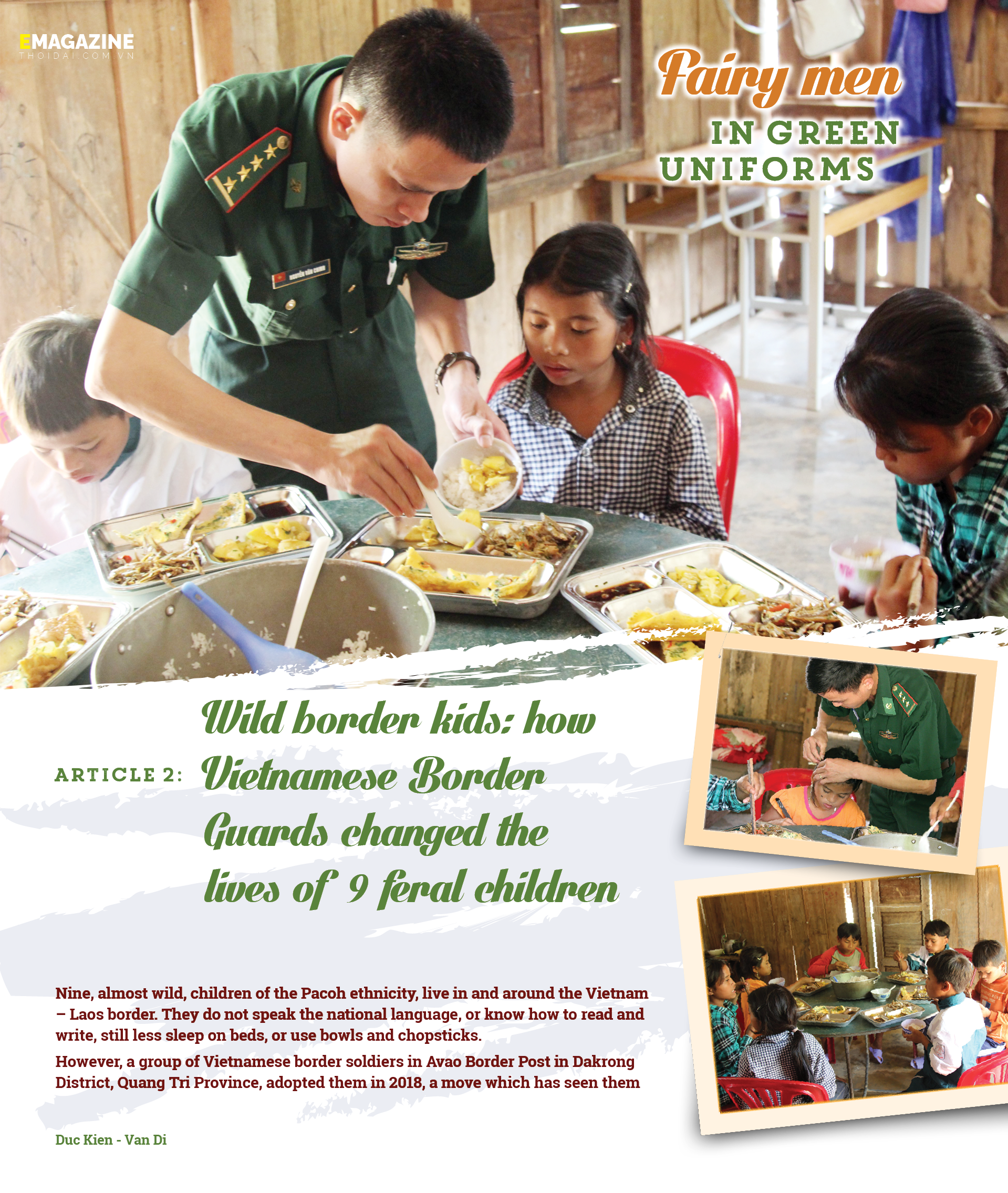 Wild border kids: how Vietnamese Border Guards changed the lives of 9 feral children