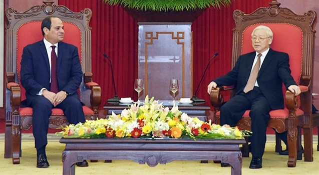 Ample room for stronger cooperation between Egypt and Vietnam
