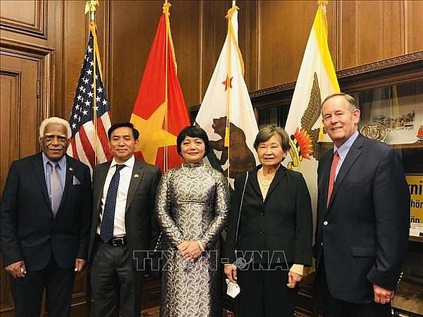 Vietnam's Flag Raised in San Francisco On National Day