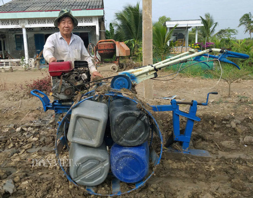 Vietnamese farmer invented ultralight plow outranking Russian and Chinese products