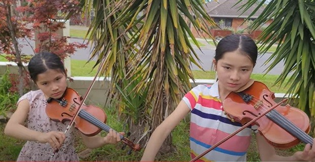 Vietnamese Children in Sydney Held Virtual Concert to Support Covid Fight in Homeland