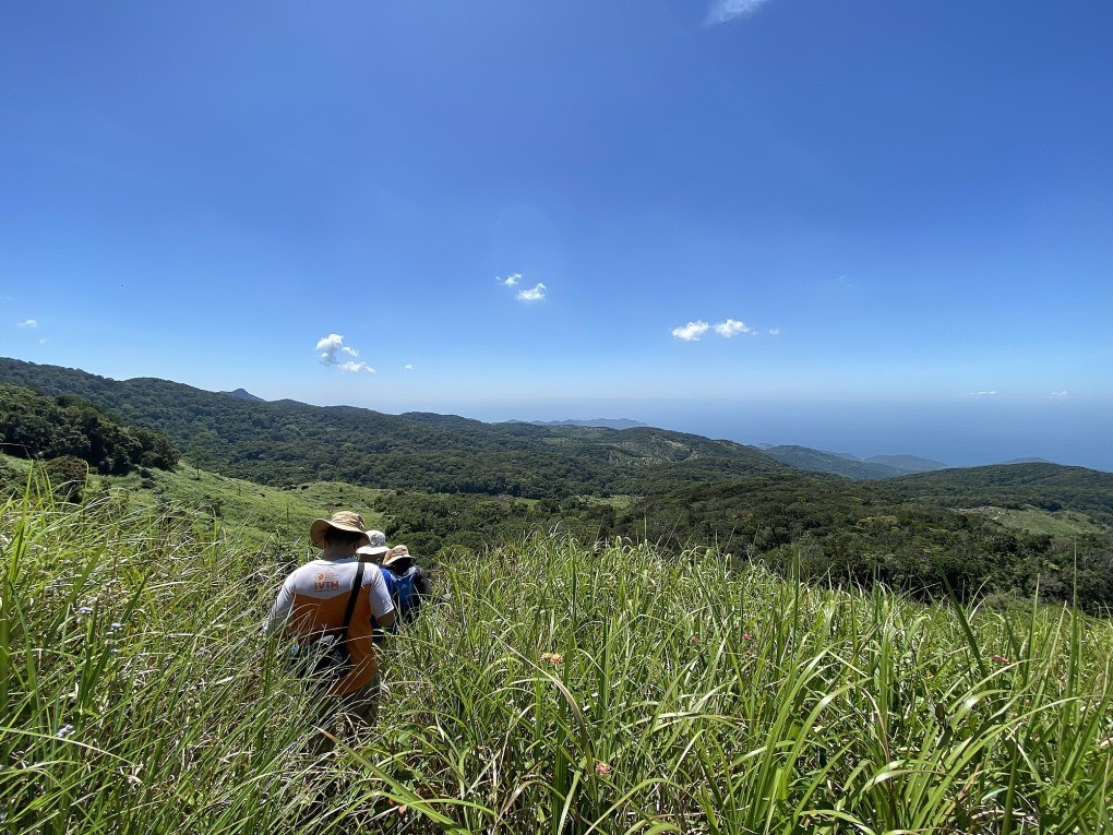 Adventuring in the Nui Chua National Park