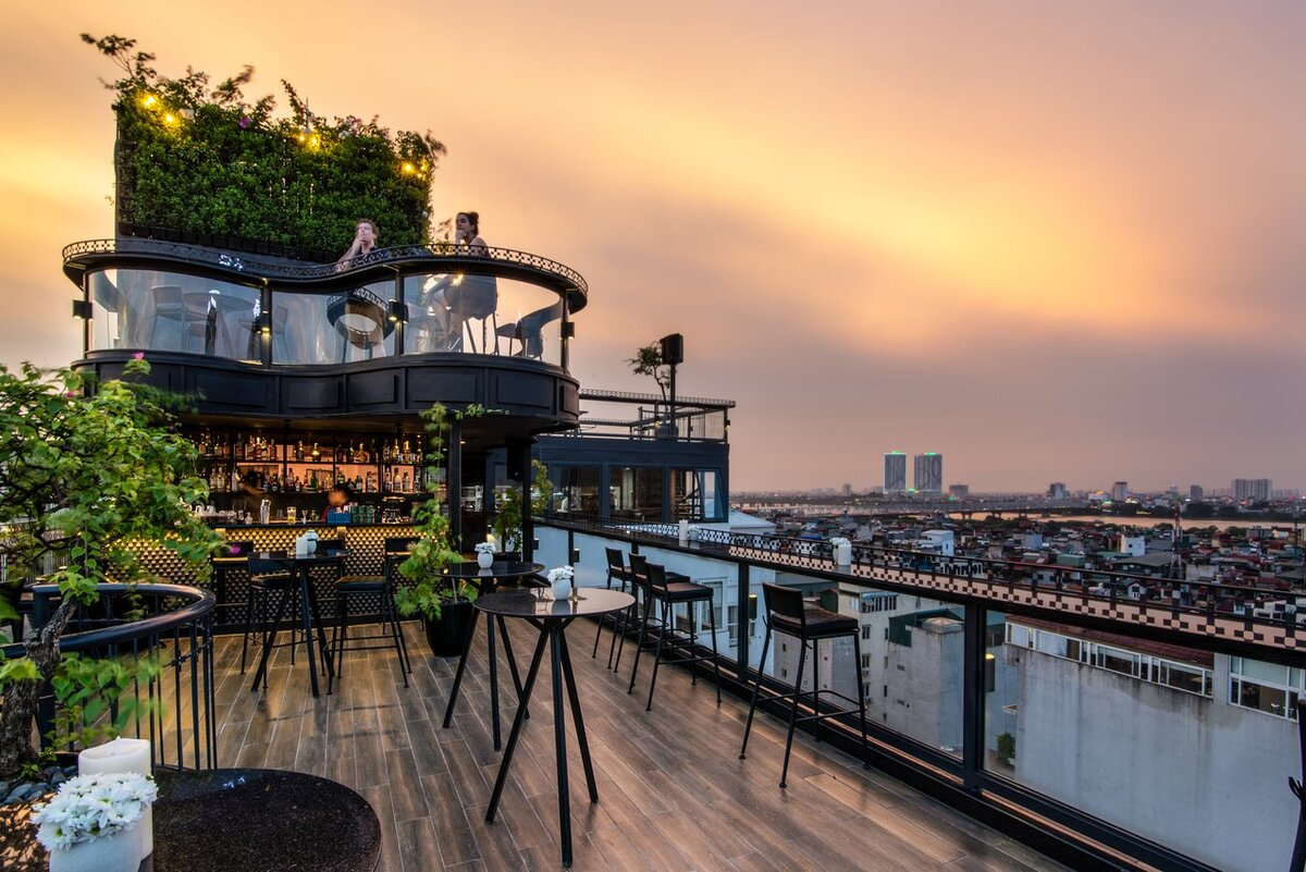 4 Hanoi hotels voted among world's most beautiful rooftops