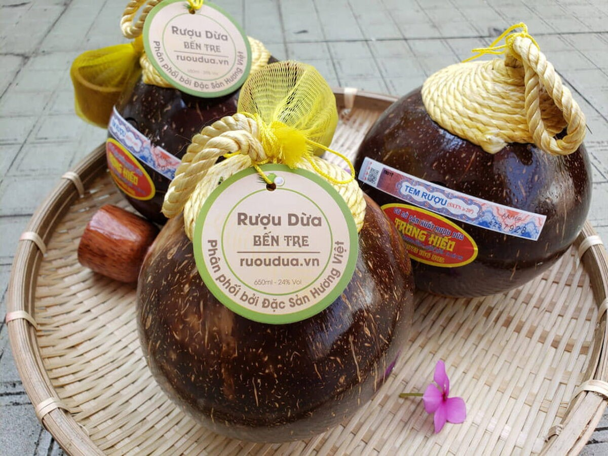 Land of Palm Trees: Delicious Specialtries Made From Coconut in Ben Tre