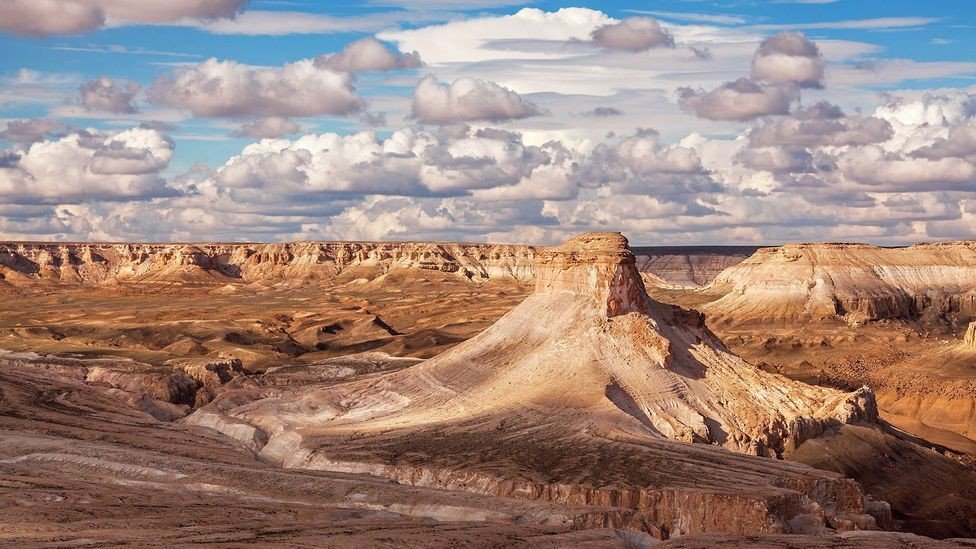 Amazing Landscapes of Ustyurt Plateau - Desert Between the Caspian and Aral Seas
