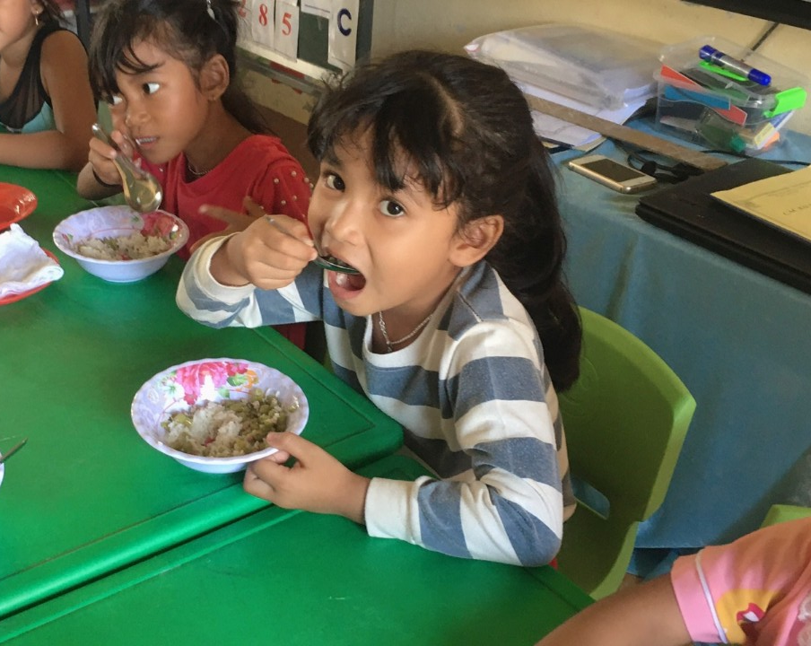 project helps improving the health of children with lifelong benefits