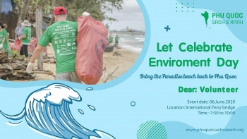 events launced to promote single use plastic reduction in vietnams pearl island