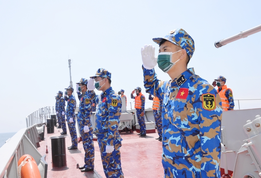 Vietnamese Naval Fleet Arrives in Russia for 2021 Army Games