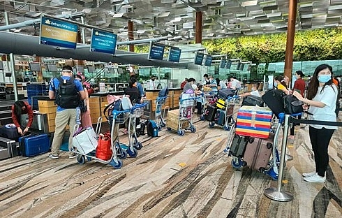Two flights bring home over 530 citizens from Singapore, Taiwan (China)