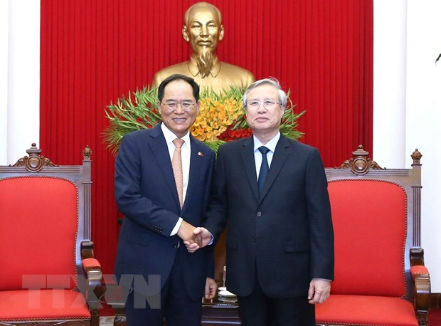 Vietnam, RoK foster bilateral relations in new situation hinh anh 1