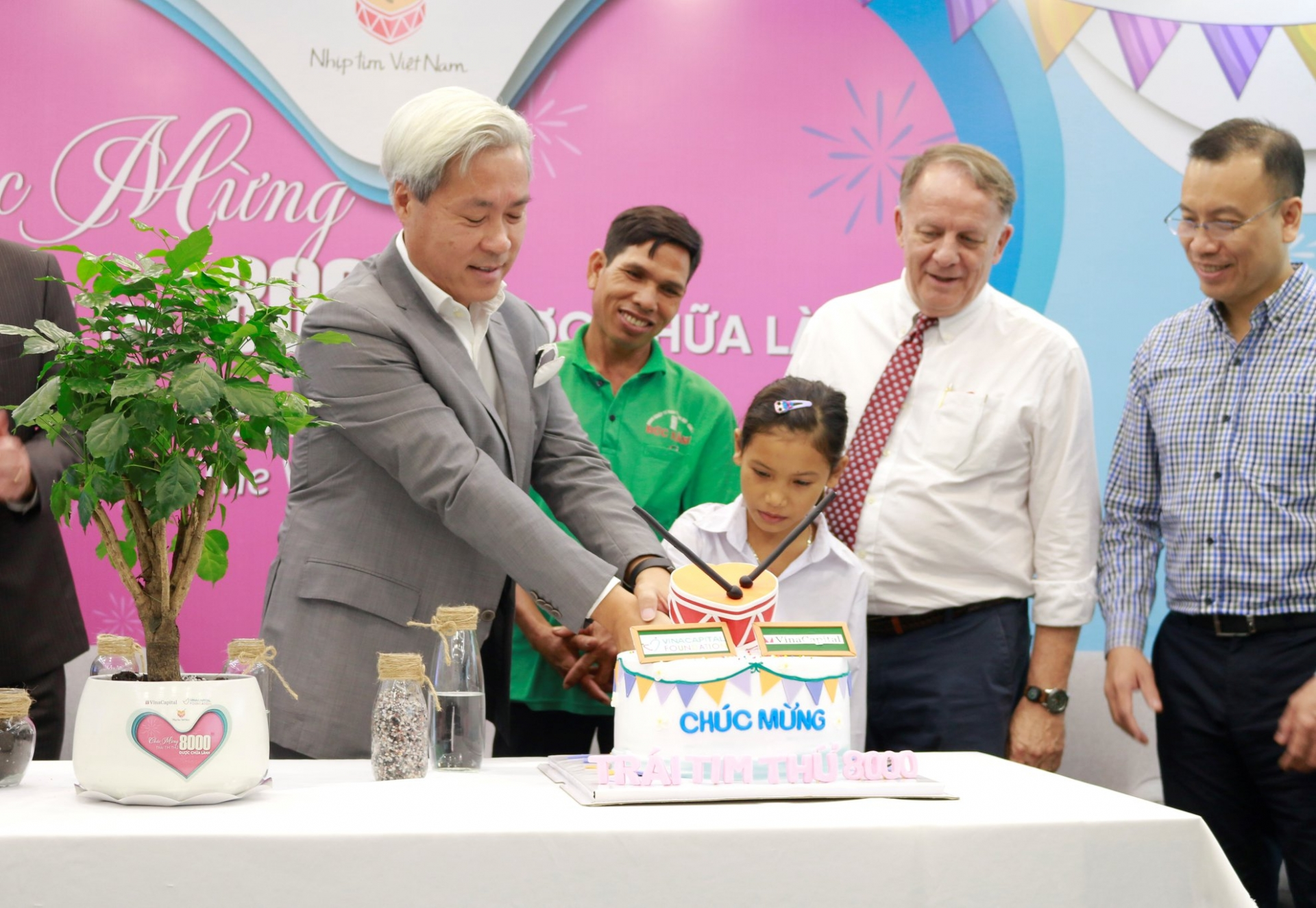 Heartbeat Vietnam funds heart operations for 8,000 children