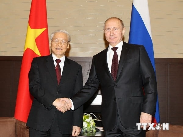 President of Russia sent New Year greetings to Vietnam