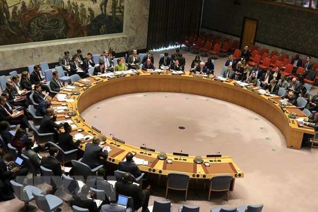A meeting of the UNSC (Photo: AFP/VNA)