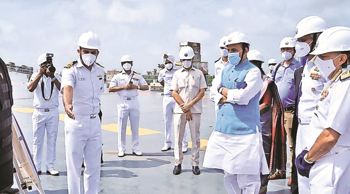 India's indigenous aircraft carrier has China in its sights