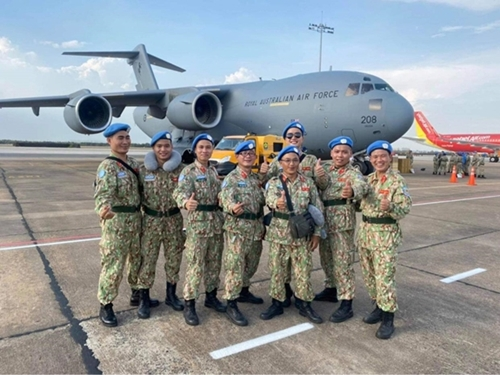 Logistics Troops Contributes To Success Of Vietnam's Level 2 Field Hospital In South Sudan