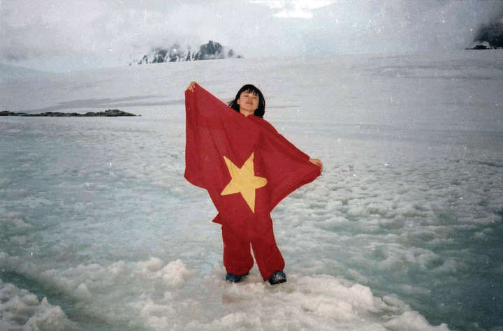 First Vietnamese to visit Antarctica inspires youngsters' actions against climate change