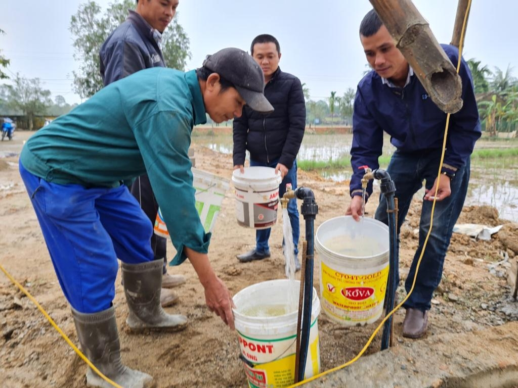 Czech funded water project benefits local people in quang tri's village