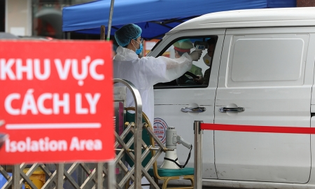 Covid-19 suspects quarantined in Vietnamese hospitals drop by nearly 1,000
